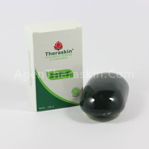 Transparant Chlorophyll Soap Theraskin