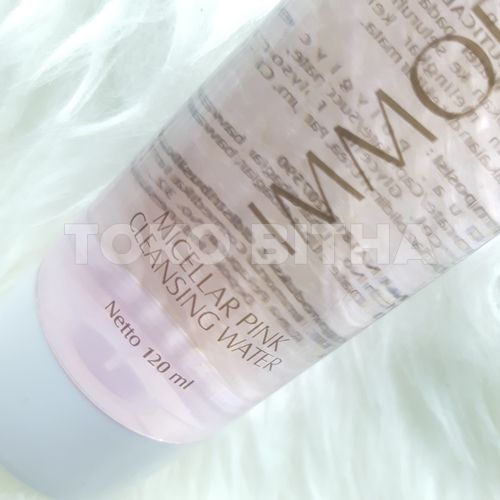 micellar cleansing water immortal