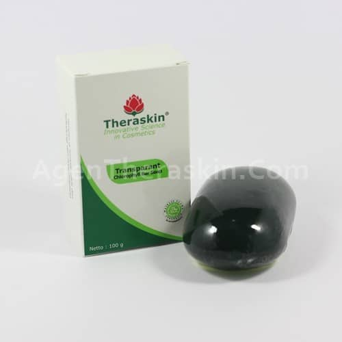 Transparant Chlorophyll Soap Theraskin 2