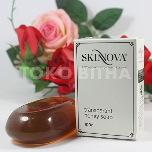 transparant honey soap skinnova