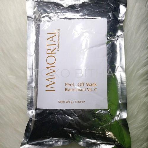 MASKER PEEL OFF IMMORTAL BLACK CURRANT VITAMIN C 500 GR MELEMBABKAN MENGENCANGAN DETOKSIFIKASI 1