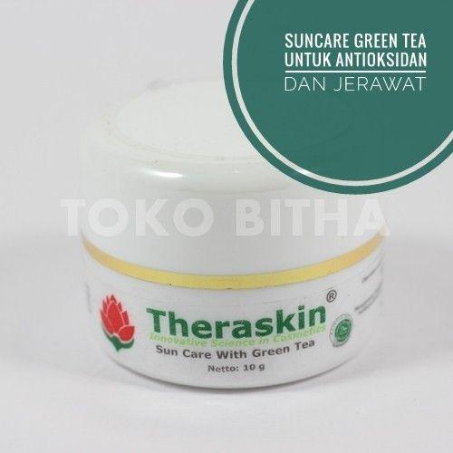 THERASKIN SUNCARE GREEN TEA PROTEKSI UV DETOKSIFIKASI DAN MENCEGAH JERAWAT